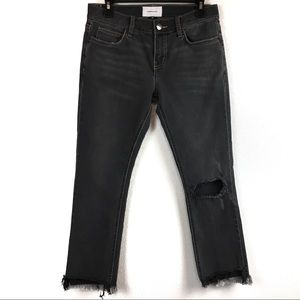 New Current/Elliott Distressed Jeans